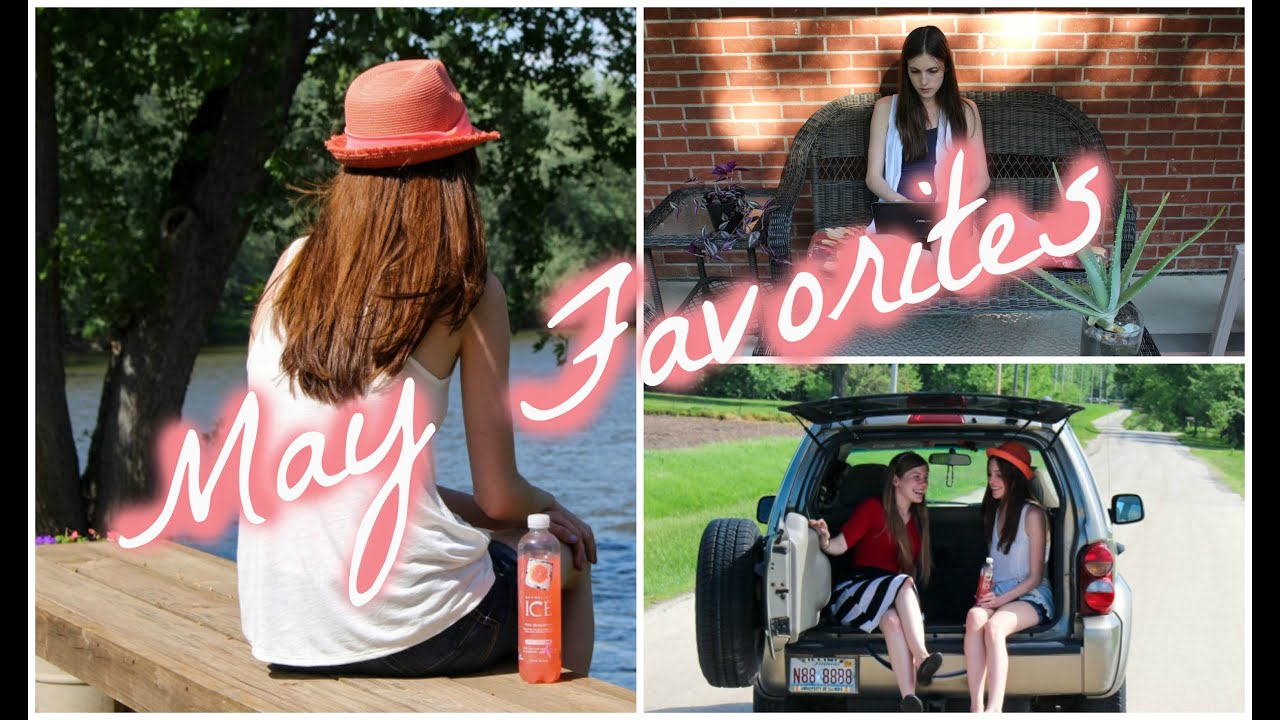 My May Favorites & A YouTube Update!