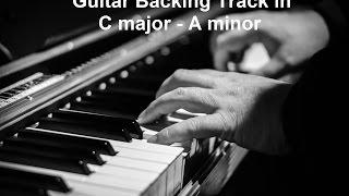 Ballad - Guitar Backing Track In C Major / A Minor