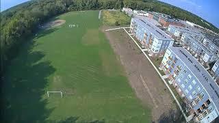 BabyHawk 2 HD FPV Quad Flight Around Kenney Park's Soccer Fields