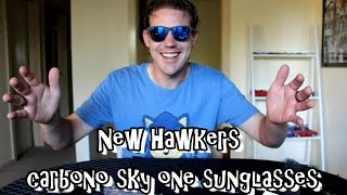 I got new sunglasses - Hawkers carbono sky one - unboxing review