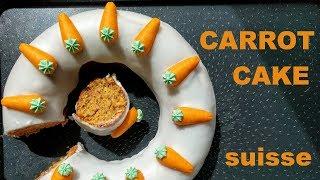 Gâteau aux carottes suisse