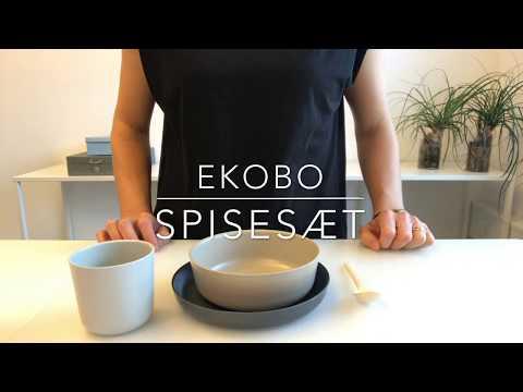 法國EKOBO 微霧光寶寶餐具組