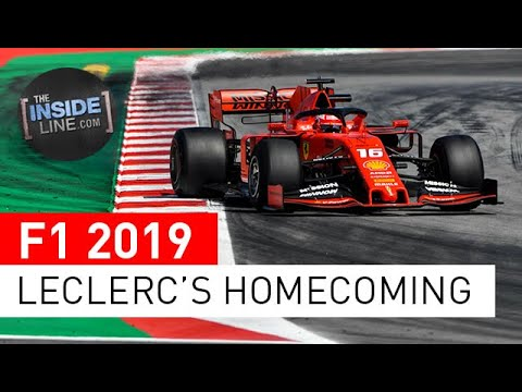 Image: WATCH: Charles Leclerc Coming Home Monaco
