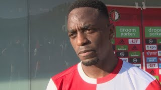 Ridgeciano Haps na blessureleed weer terug bij Feyenoord: 'Ik voel me goed'