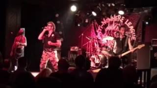 Burn 'em All (live) - Anti Nowhere League - Mr Kyps Poole 18/11/16