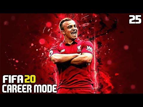 SHAQIRI WONDERGOAL! FA CUP SEMI-FINAL   FIFA 20 LIVERPOOL CAREER MODE #25