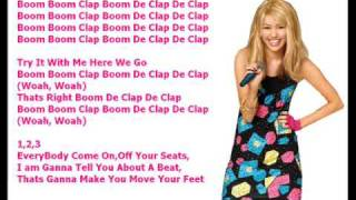 Miley Cyrus HoeDown Throwdown W/LYRICS