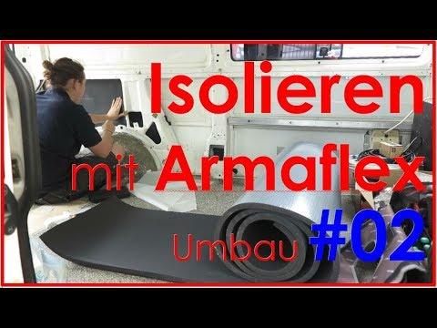 Isolieren mit Armaflex | VW T4 Camper Ausbau #02