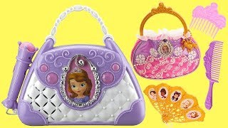 Princess Sofia the First Boombox with Microphone & Light Up Musical Purse