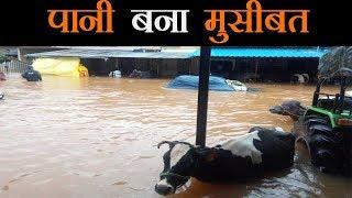 भारी बारिश की चपेट में देश का आधा हिस्सा