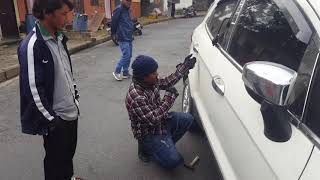 How to unlock car door without key(ford car)9846042291 pokhara