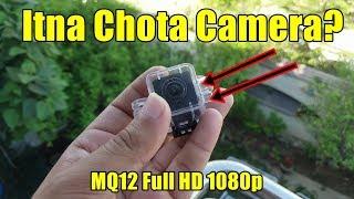 SQ12 Mini Dv Camera Full HD 1080p Camcorder Review By M-Tech URDU/HINDI