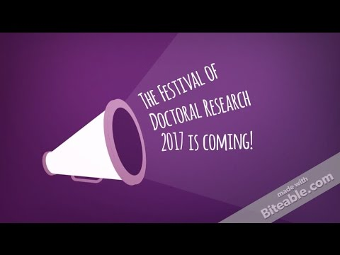 Festival of Doctoral Research 2017 | University of Southampton