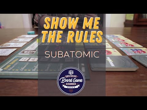 Subatomic by Genius Games   Show Me The Rules