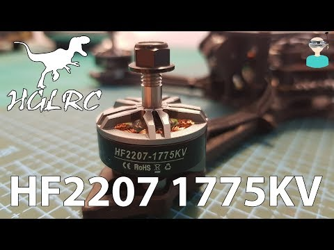 hglrc-hf2207-1755kv-motors--batman220-upgrade--thrust-tests