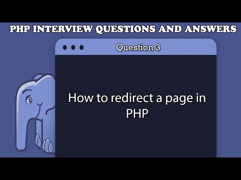 how to redirect a page in php