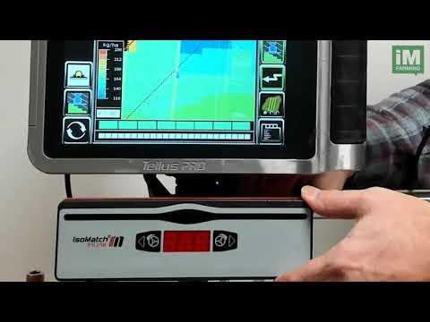 Kverneland IsoMatch InLine LED-bar  - film på YouTube