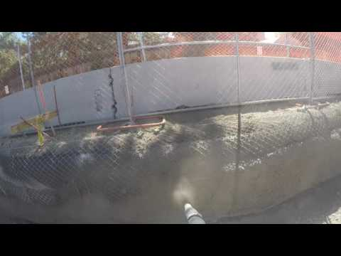 Shotcrete- Reno student housing