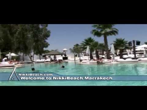 Video of Nikki beach Marrakech