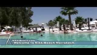 Welcome to Nikki Beach Marrakech