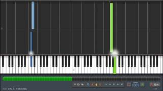 Chris Brown - Don't Wake Me Up - Piano Tutorial - Synthesia