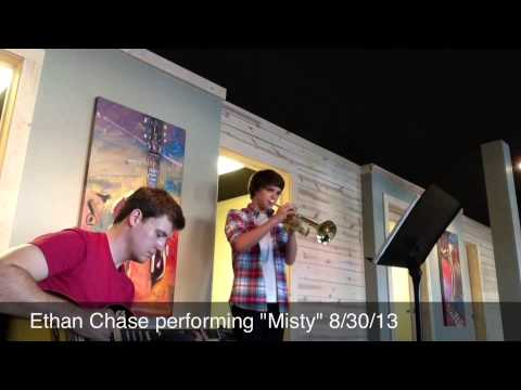 "I accompany Ethan Chase, a former trumpet student, performing the jazz standard ""Misty""."