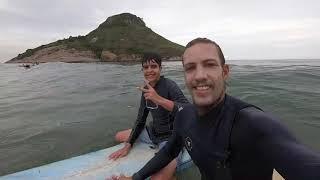 Aula de Surf Inclusiva – Leonardo Azevedo