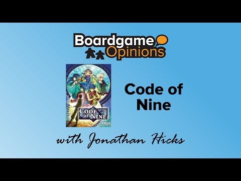 Boardgame Opinions: Code of Nine