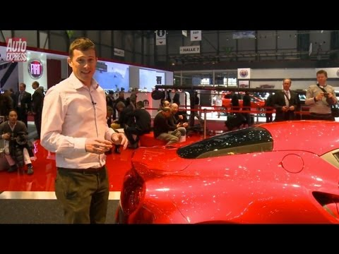 Alfa Romeo 4C at the 2013 Geneva Motor Show - Auto Express