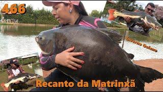 Pescaria de inverno no Recanto da Matrinxã - Fishingtur na TV 466