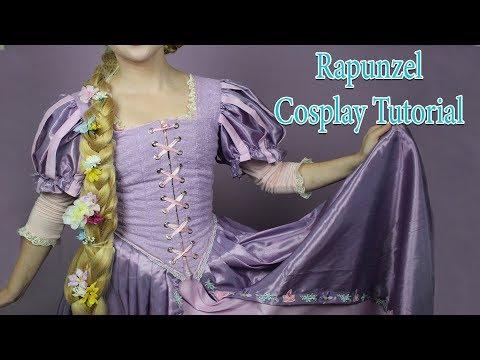 Rapunzel Cosplay Tutorial (Dress) | Cosplay Conscience