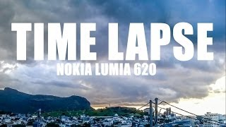preview picture of video 'Time Lapse w/ Nokia Lumia 620: Before Sunset - Port Louis - Mauritius #9'