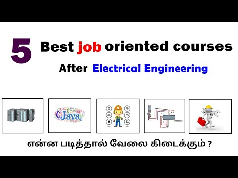 5 Best job oriented courses after Electrical Engineering | Tamil ...
