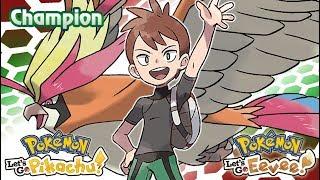 Pokemon Let's Go Pikachu & Eevee : Champion Battle Music (GR)