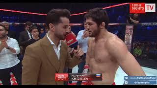 FIGHT NIGHTS GLOBAL 85. Алиасхаб Хизриев. Слова из клетки.