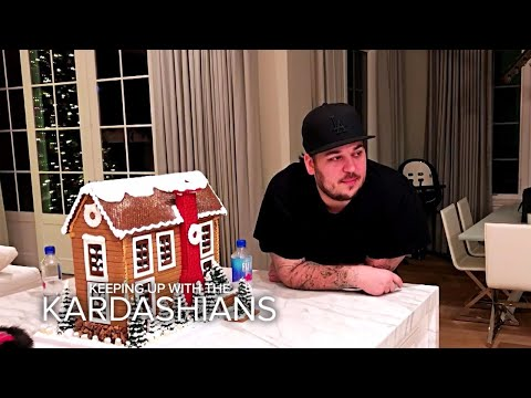 KUWTK | Rob Kardashian Angry Over Blac Chyna Leaving | E!