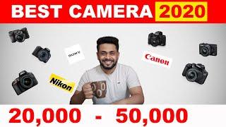 Best DSLR mirrorless camera under 50000 in 2020 Hindi