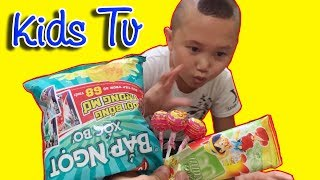 Five Little Babies Jumping on the Bed | Kids Song with Icream | TammaoKidsTV