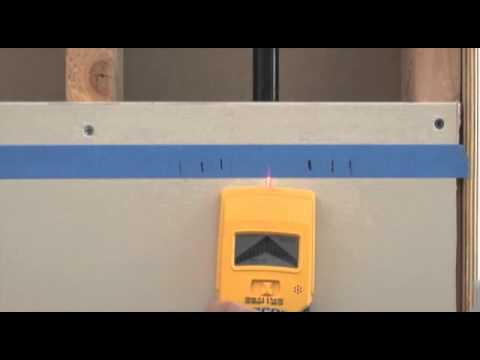 How to Use a Zircon MultiScanner Pro SL Stud Finder/Wall Scanner to Find Wall Studs