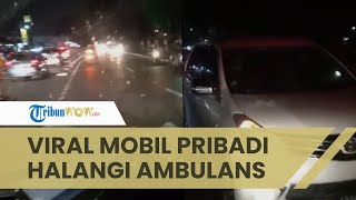 Viral Video Ambulans Dihalangi Mobil Pribadi saat Bawa Pasien di Kramat Jati: Emergency Response Pak