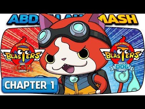 Yo-kai Watch Blasters - Red Cat Corps / White Dog Squad: Episode 1! (100% Walkthrough)