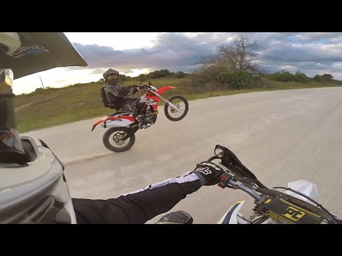 2015 KTM 500 exc, Husqvarna FE 501 & KTM690 Enduro awesome off road trail ride dual sport GoPro