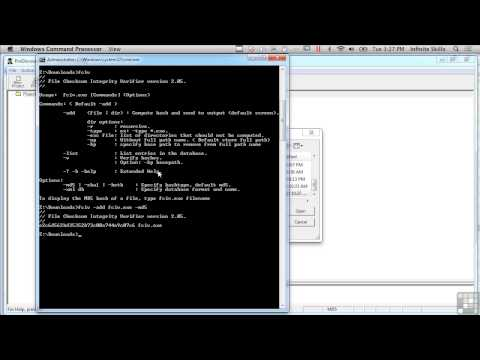 Learning Computer Forensics Tutorial   Validating Data Under ...