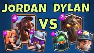 Clash Royale: PRO FACE-OFF : JORDAN vs DYLAN : TRIFECTA vs AIRFECTA