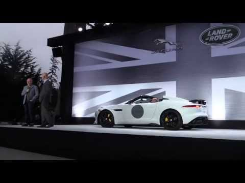 Jaguar Project 7 First Look & Range Rover Sport SVR Debut at Pebble Beach