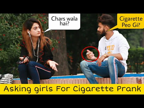 Asking Girls For Cig@rette Prank | Prank in Pakistan