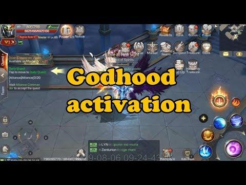 Godhood Activation - MU Origin 2