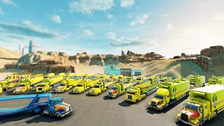 Building a NEW TRUCKING TYCOON Empire in the USA   TransRoad: USA Tycoon Simulator Builder Gameplay