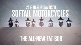 The All-New 2018 Harley-Davidson Fat Bob