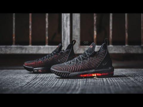"""bb94365c3e6 Nike LeBron 16 """"Fresh Bred"""" Review – Sean Go"""